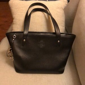 Ralph Lauren Black Leather Tote !!CLEARANCE!!